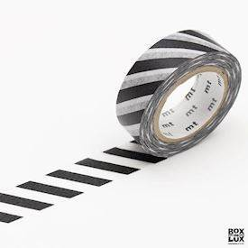 Masking tape - Stripe black 2